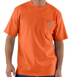 CARHARTT WORKWEAR POCKET T-SHIRT-Orange