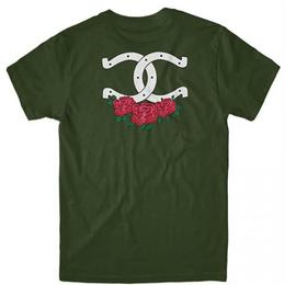 CHOCOLATE SKATEBOARDS CITY COWBOYS TEE - OLIVE