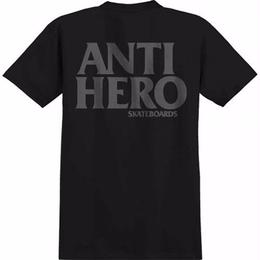 Anti Hero BLACK HERO T-SHIRT-BLACK/REFLECTIVE PRINT