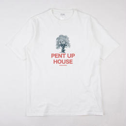 GRIND LONDON PENT UP HOUSE TEE-WHITE