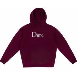Dime DIME CLASSIC HOODIE-Burgundy