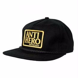 Anti Hero Reserve Patch Unstructured Snapback Hat-Black