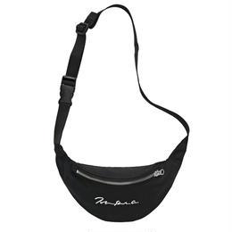 POLAR SKATE CO SIGNATURE HIP BAG-BLACK