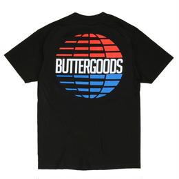 BUTTER GOODS MULTI-NATIONAL LOGO TEE, Black