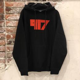 Call Me 917 Sukll Hoodie - Black