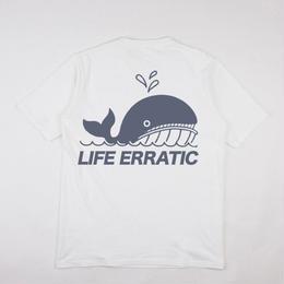 GRIND LONDON LIFE ERRATIC TEE-WHITE