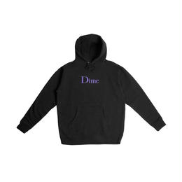 DIME CLASSIC LOGO HOODIE-Black