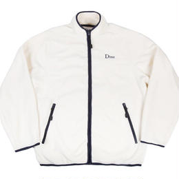 DIME POLAR FLEECE JACKET-Cream & Navy