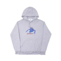 ALLTIMERS MONSTER HOODY GREY