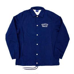 QUARTERSNACKS Canvas Coach Jacket — Navy