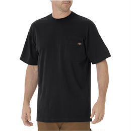 DICKIES Short Sleeve Heavyweight T-Shirt - Black