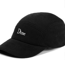 DIME FLEECE 5 PANEL CAP-BLACK