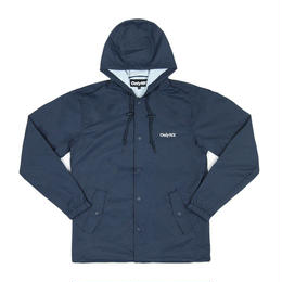 ONLY NY Lodge Hooded Coach Jacket-Navy