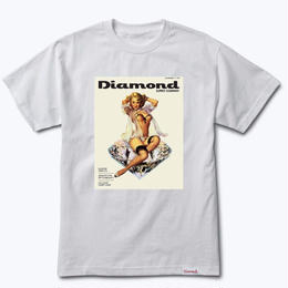 Diamond Supply Co.CENTERFOLD TEE-WHITE