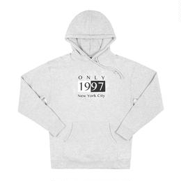 ONLY NY Deco Hoody - Heather Grey