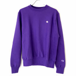 CHAMPION REVERSE WEAVE CREW NECK - Purple