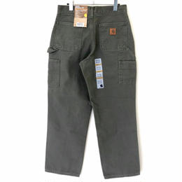 CARHARTT WASHED DUCK WORK DUNGAREE-Moss