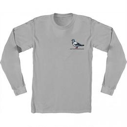 Anti Hero Lil Pigeon Long Sleeve T-Shirt  - Silver