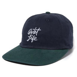 THE QUIET LIFE SCRIPT POLO HAT-NAVY