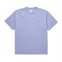 POLAR SKATE CO HAPPY SAD GARMENT DYED TEE-Washed Purple