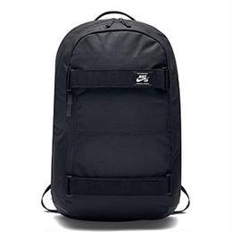 NIKE SB Courthouse Backpack-Black/Black/White