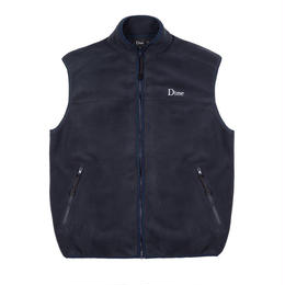 DIME POLAR FLEECE VEST -  Navy