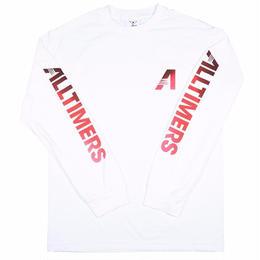 Alltimers ARTISTS LONGSLEEVE TEE WHITE