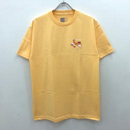 CHOCOLATE SKATEBOARDS SUN BATHERS TEE - SQUASH