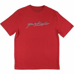 Yardsale  RED SCRIPT T-SHIRT