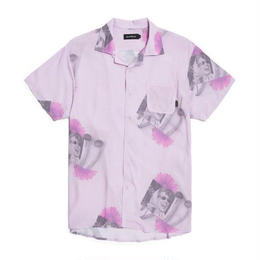 GOOD WORTH & CO Mushroom Button-up Shirt - Pink