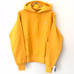 CHAMPION REVERSE WEAVE PULLOVER HOODIE - GOLD