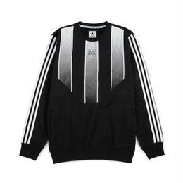 adidas skateboarding EQT SWEATSHIRT Black / White (BK8006)