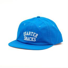 QUARTERSNACKS Classic Arch Cap — Electric Blue