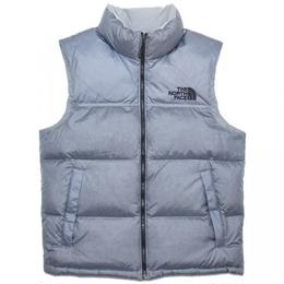 The North Face x UO Novelty Nuptse Down Vest / Silver