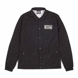 LIFE'S A BEACH LAB Logo Coach Jacket-BLACK