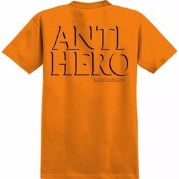 Anti Hero DROP HERO T-SHIRT-ORANGE