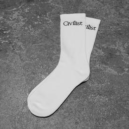 Civilist Socks – White