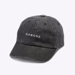 Diamon Supply Co. LEEWAY SPORTS CAP-BLACK
