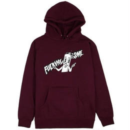 FUCKING AWESOME CIG MAN HOOD-MAROON