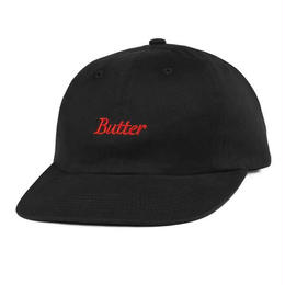 BUTTERGOODS CYCLE 6 PANEL CAP-BLACK