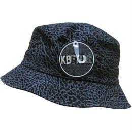 KB ETHOS COTTON BUCKET HAT-BLK/GRY