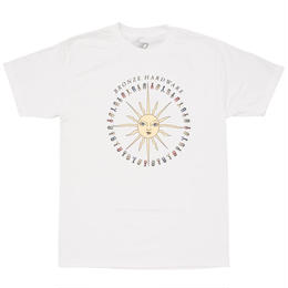 BRONZE56K PEACE LOVE AND HARDWARE TEE - WHITE