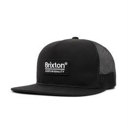 BRIXTON PALMER MESH CAP - BLACK/BLACK