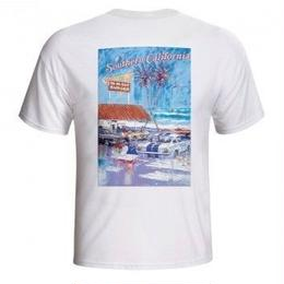 IN-N-OUT 1992 AT THE BEACH T-SHIRT - WHITE