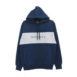 MAGENTA SKATEBOARDS PARIS HOODIE - NAVY
