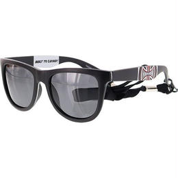 INDEPENDENT BANNER 80S SUNGLASSES - BLACK