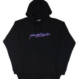YARDSALE Black script hoodie