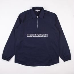 GRIND LONDON     COTTON PULLOVER - NAVY