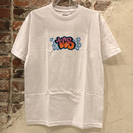 Tall Can Boys Bubble Letter Tee - White