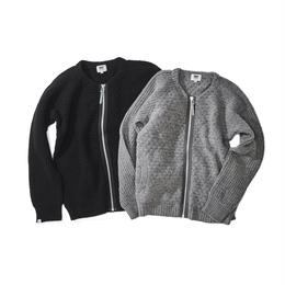 FISHERMAN ZIP SWEATER